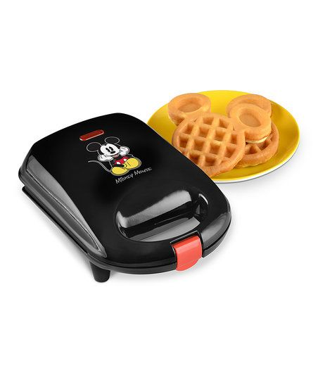 Enjoy a creative breakfast with this waffle maker that creates crisp, fluffy treats in an iconic Mickey Mouse shape.