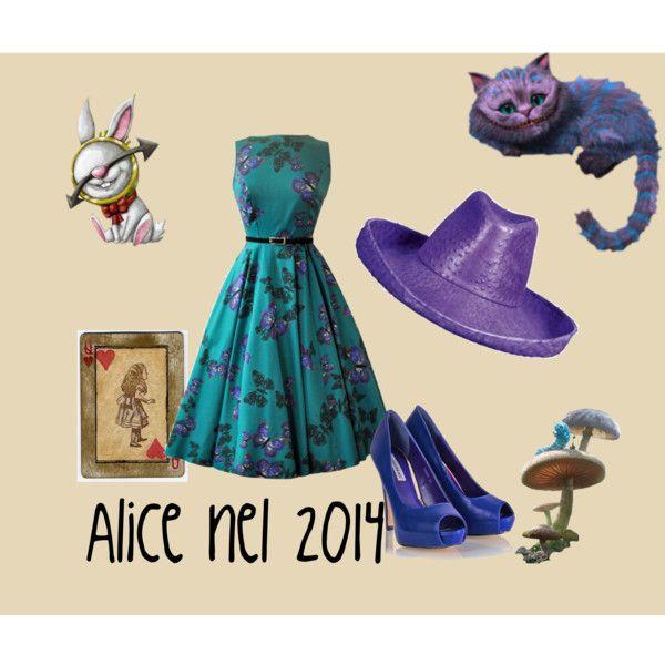 """""""Alice in 2014"""" by ladri-di-idee on Polyvore"""