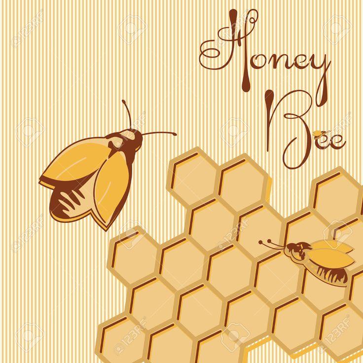 Imagen de http://previews.123rf.com/images/arinabodorina/arinabodorina1411/arinabodorina141100009/33672635-Vector-de-fondo-y-miel-de-abeja-en-la-etiqueta-de-nido-de-abeja-para-su-dise-o-Foto-de-archivo.jpg.