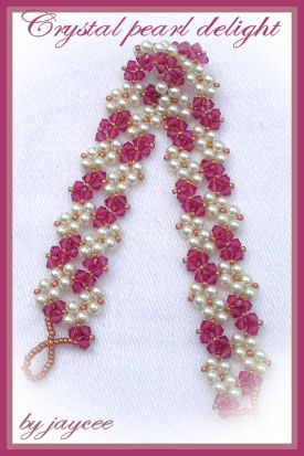 fancypatternspg2: Beads Bracelets, Bracelets Paid, Beadwork, Crystals Pearls, 275 413 Pixels, Beading Bracelets, Delight Bracelets, Fancypatternspg2 Tutorials, Crafts