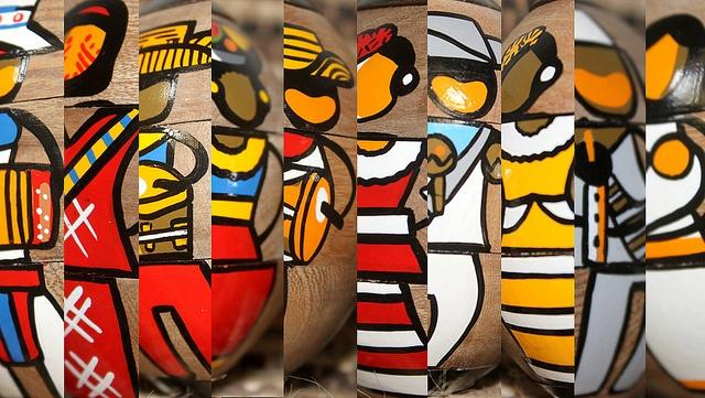 El Caribe Colombiano es Wayúu, Palenque, Arhuaco, Mestizo, Blanco, Negro y Arabe. Somos un Crisol de Razas. Producto diseñado para el @MuseodelCaribe