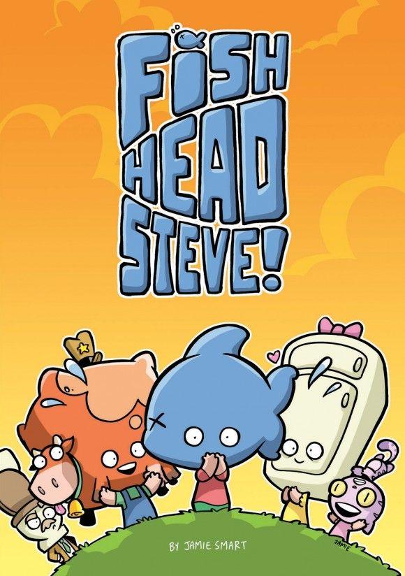 Fish-Head Steve by Jamie Smart - The Phoenix Comic (Alec)