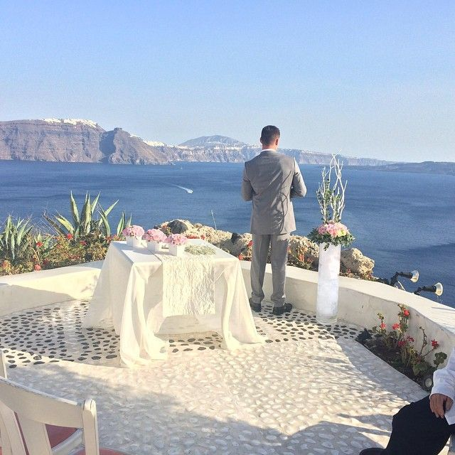 #AndronisExperience #Wedding #Santorini Photo credits: @christyl1688