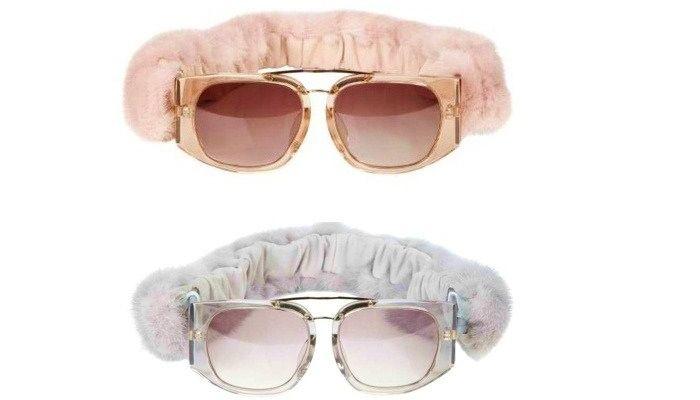 Очки Alexander Wang и Linda Farrow: солнцезащитные очки
