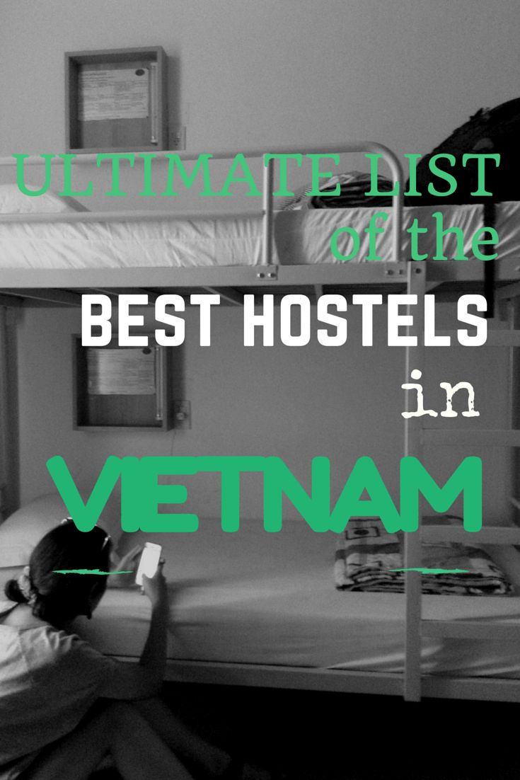 Ultimate List of The Best Hostels in Vietnam – From $6