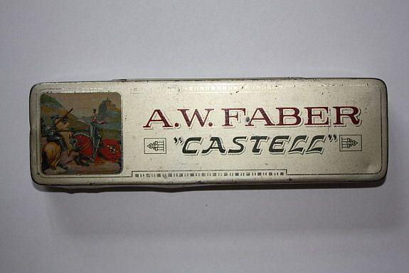 Alte Blechdose Faber Castell Bleistifte Nürnberg! | kalaydo.de