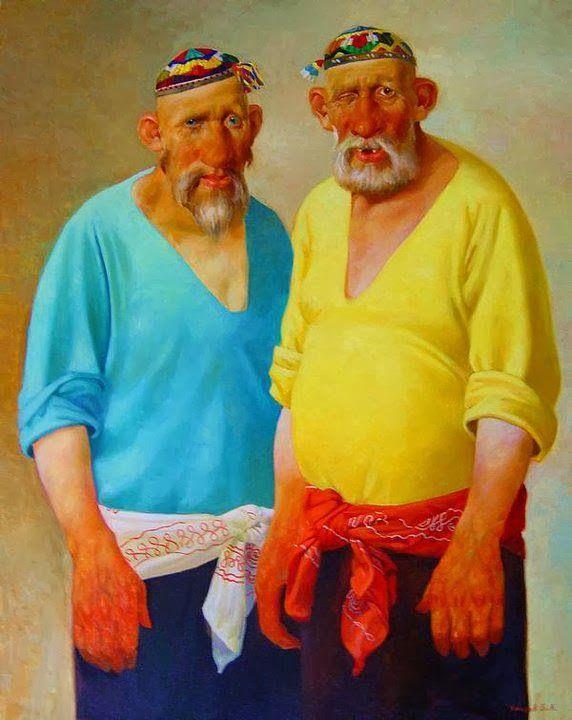 Uzbekistan Painter Umarov Bakhtiyor   1963