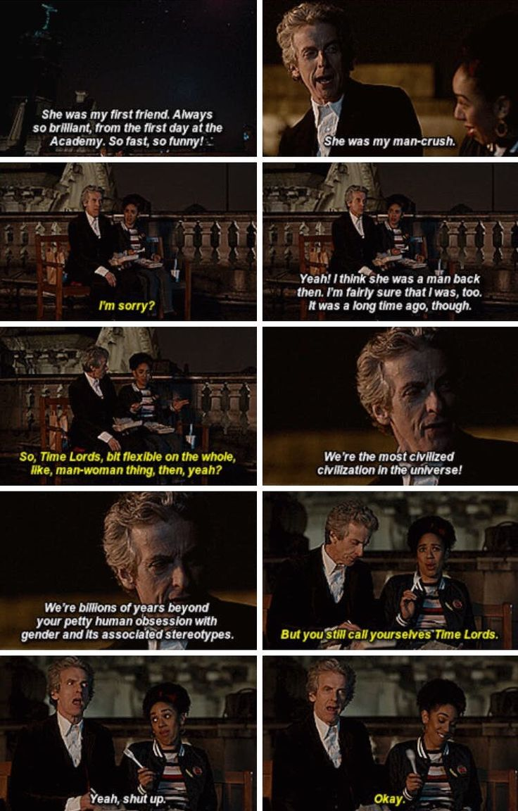 Absolutely Love Bill.....Doctor Who World Enough and Time. Twelfth Doctor Peter Capaldi Bill Potts Pearl Mackie