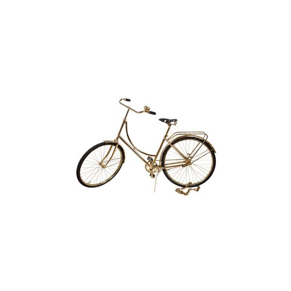 dutch bicycle - ABC Carpet & Home ($50) ❤ liked on Polyvore featuring fillers, transport and decorations