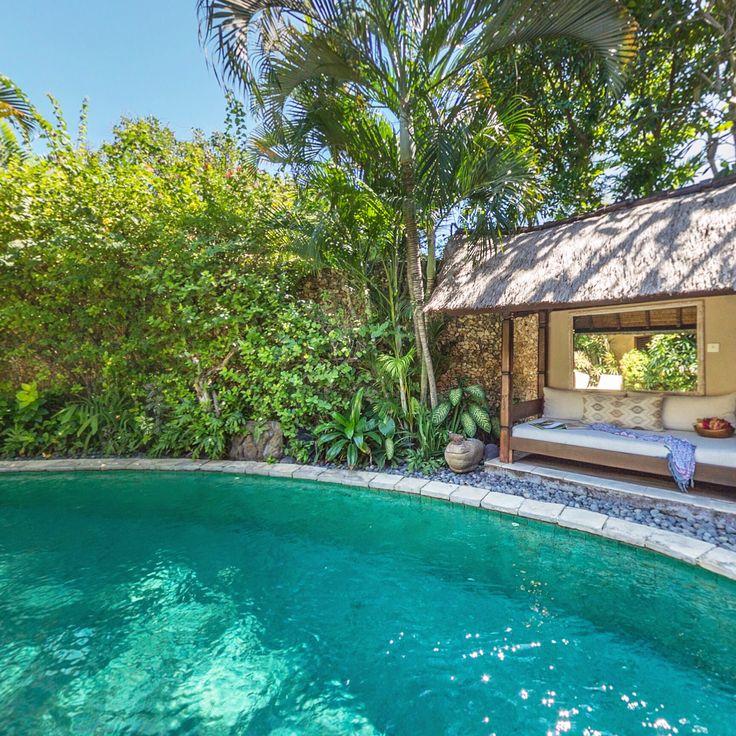 Beautiful sight to wake up each morning in paradise… ☀️🌴❤️  www.villakubu.com #villakubu #villa9 #seminyak #luxury #balivilla #sanctuary #wanderlust #tropicalparadise #bali #travel