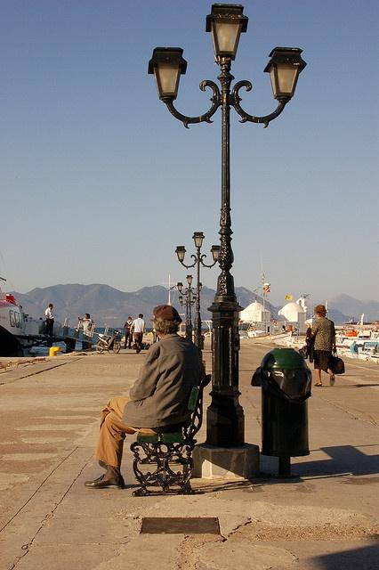 Port of Aegina, Greece