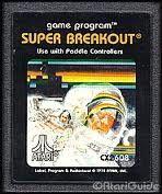 Super Breakout - Atari 2600 Game
