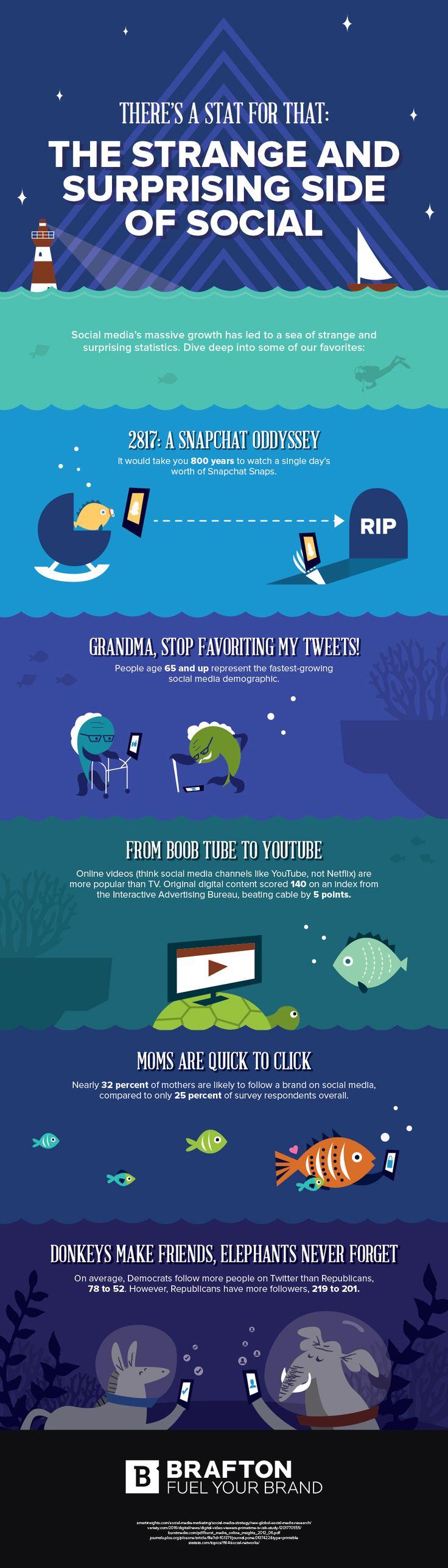 Strange Social Media Facts