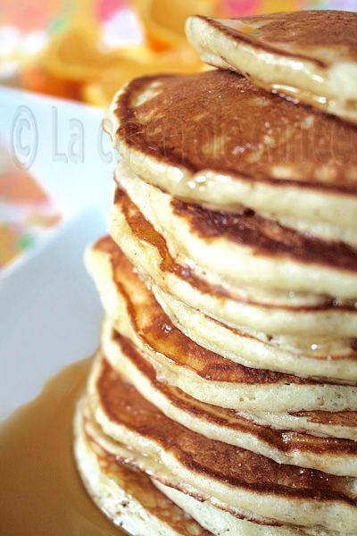 Orange ricotta pancakes   Breakfast! - waffles and pancakes   Pintere ...