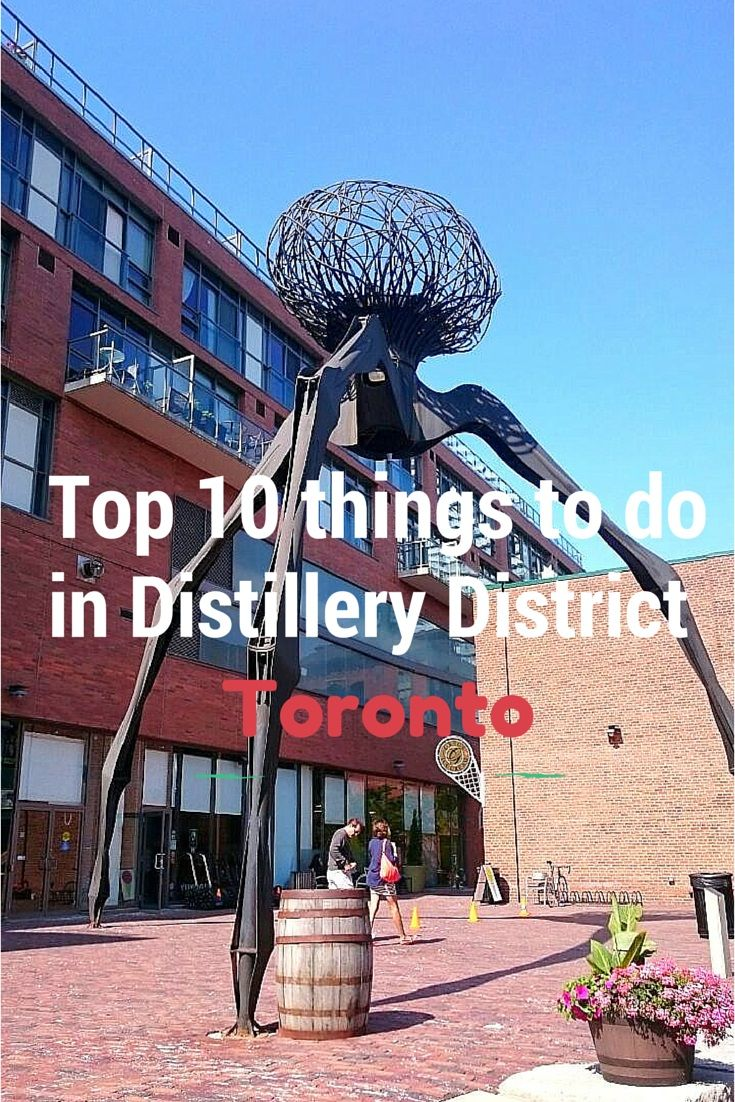 Visiting Toronto this Summer, Check out the 'Top 10 things to do in Distillery District'.