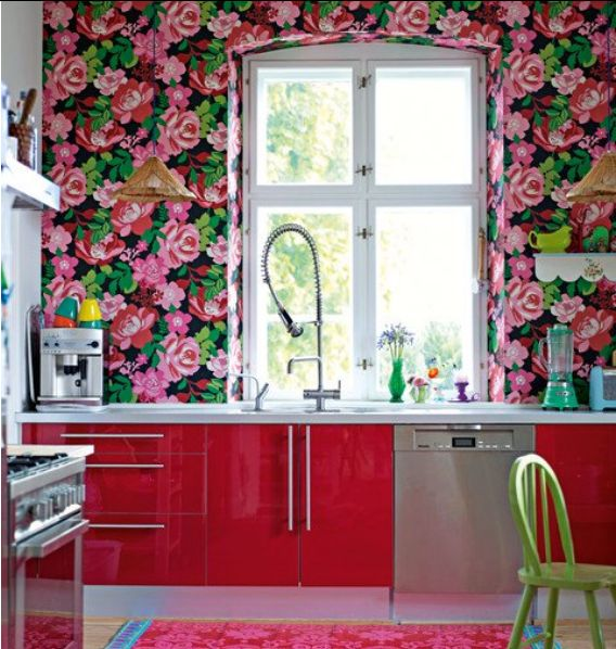 10 Appealing Interior Designs With Floral Motifs | My Home Design