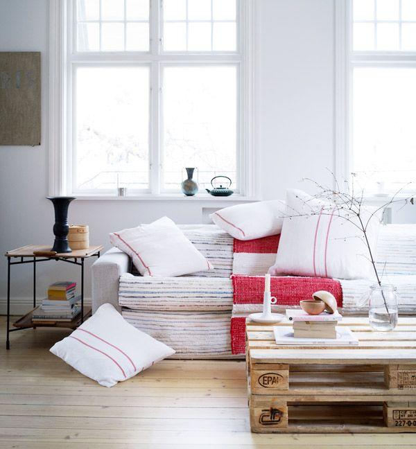 Rag Rugs, Living Room, Covers Sofas