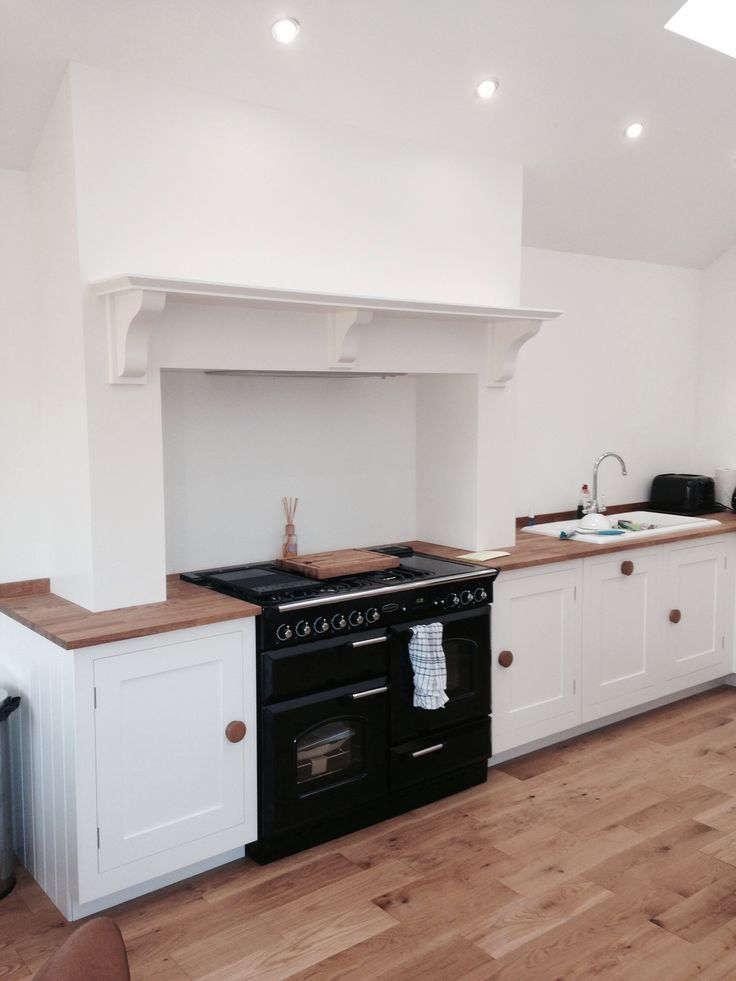 Kitchen Chimney Breast Minimalist Design Jacqui