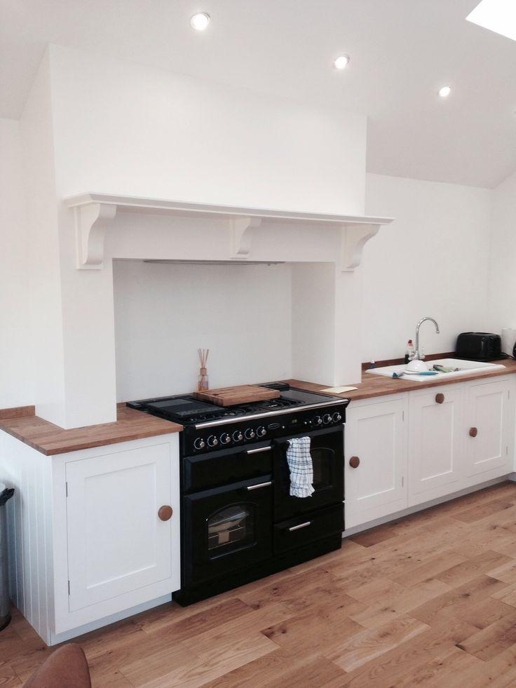 Kitchen chimney breast minimalist design jacqui for Kitchen ideas edinburgh