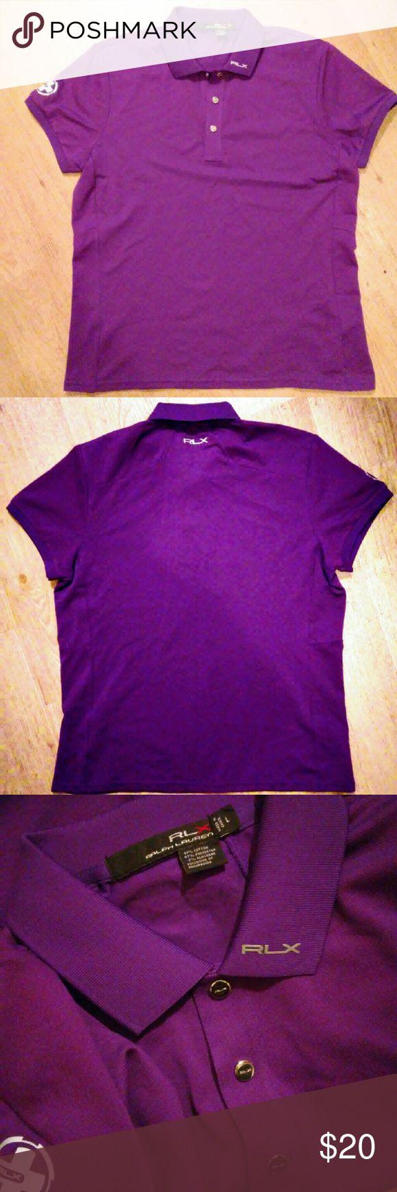 RLX polo golf shirt Ralp Lauren Size L Purple color Never worn Size L Ralph Lauren Tops Tees - Short Sleeve