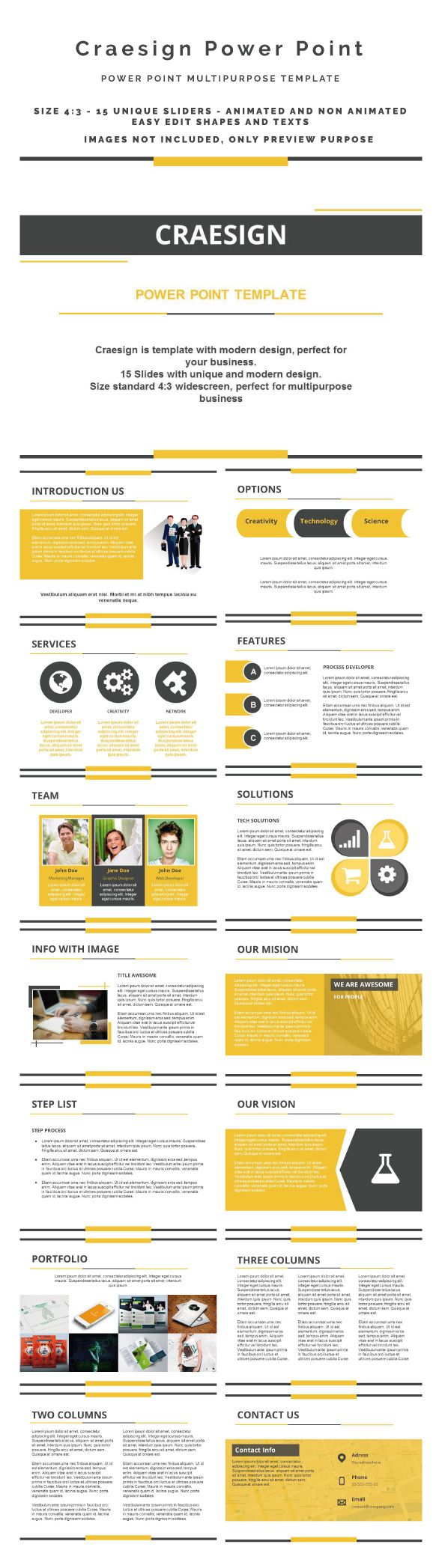 Craesign Power Point Template #design Download: http://graphicriver.net/item/craesign-power-point/12045958?ref=ksioks