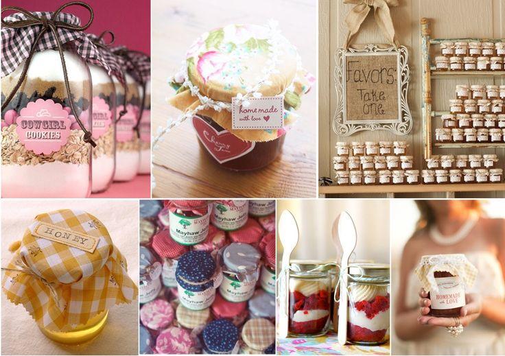 manualidades para regalar como recuerdos para boda - Dulces artesanales