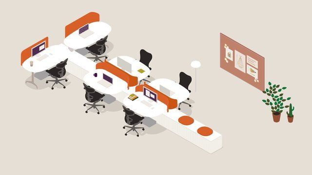 Locale™ by Herman Miller by RETAIL FACILITY. A short animation produced by Herman Miller that displays the potentials of Locale™, an office furniture system designed by Industrial Facility as part of Herman Miller's Living Office.