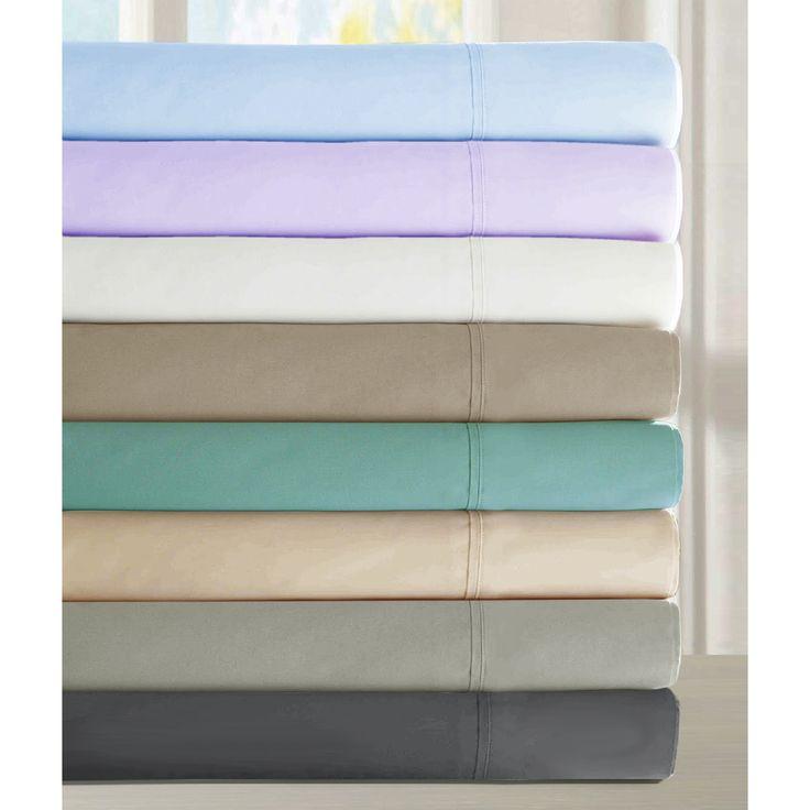 Luxury Cotton Deep Pocket 6-piece Queen Size Sheet Set in