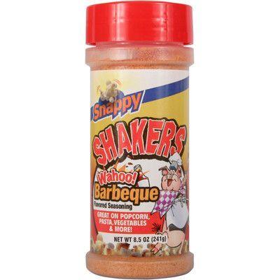Snappy Popcorn 8.5 oz Snappy Shaker Flavour: Wahoo BBQ