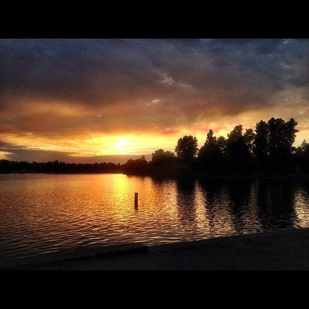 Green Lake Park in Seattle, WA