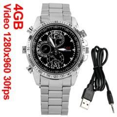 Wrist Watch 4GB USB Mini DV DVR Hidden Spy Cam Camera Camcorder