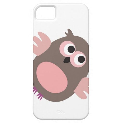 Funny pink owl iPhone 5 cover