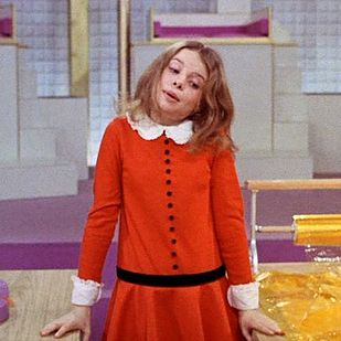 Veruca Salt from Willy Wonka & the Chocolate Factory | 16 Super Cool Halloween Costumes For '70s Girls