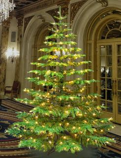 Beautiful Artificial Noble Fir Tree For The Holidays