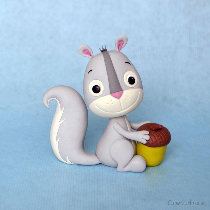 DIY Squirrel Polymer Clay Step-by-Step Tutorial