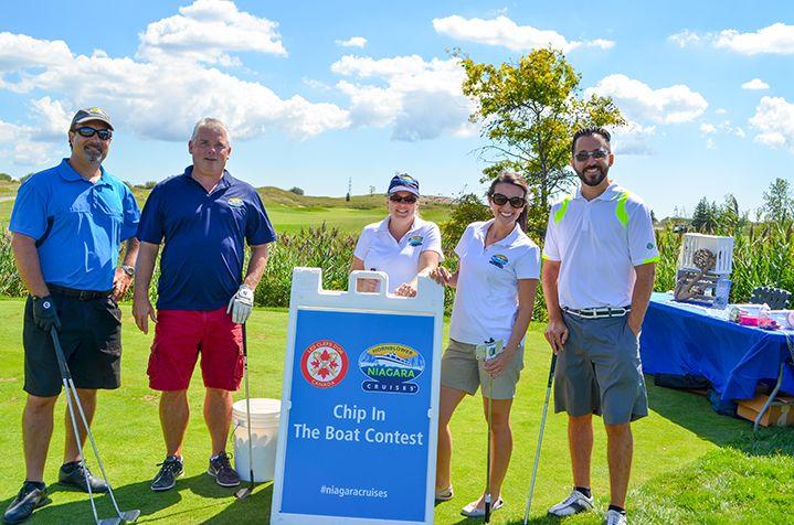 Hornblower Niagara Cruises Golf Tournament Team Niagara Falls Ontario Canada