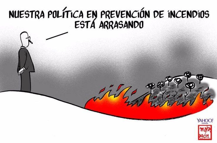 Política en prevención! #España #Viñeta #Humor