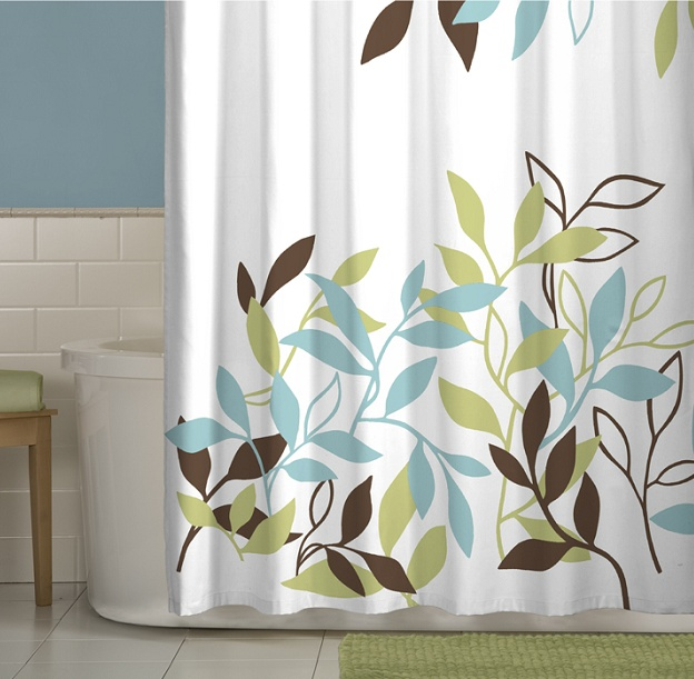 Maytex Leaf Shower Curtain