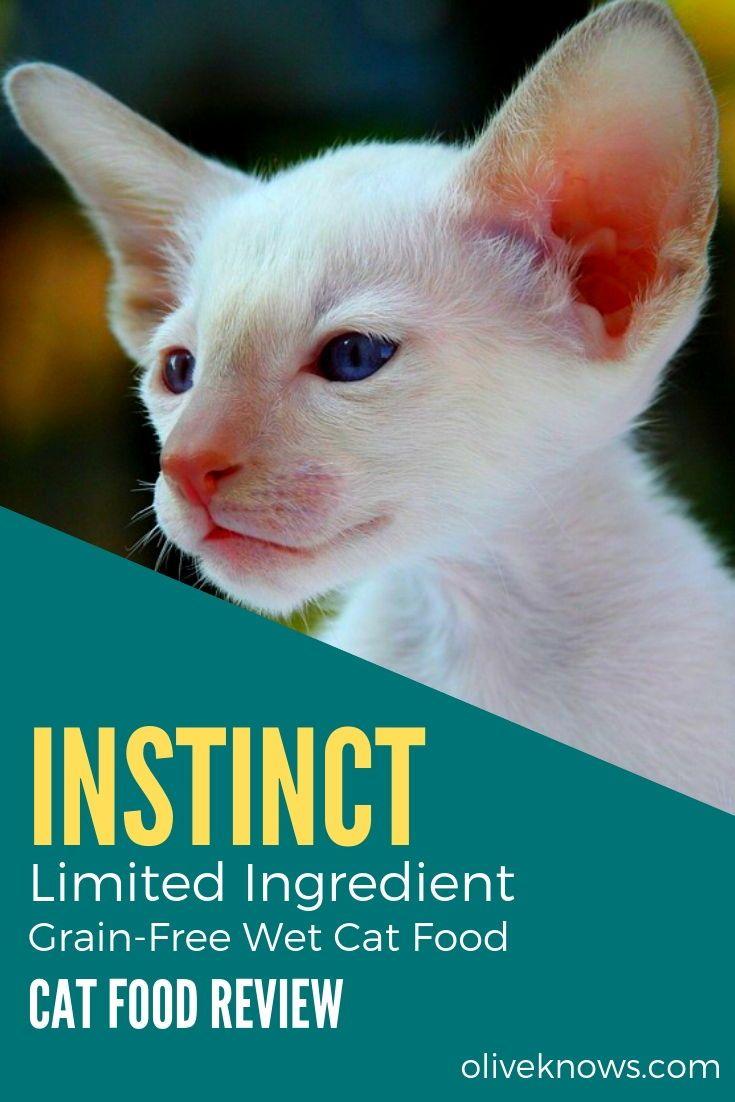 Instinct Limited Ingredient Grain Free Wet Cat Food Review Best Cat Food Cat Food Grain Free Cat Food