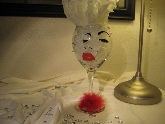 109 best Painted Glass Crafts images on Pinterest | Halloween wine ...