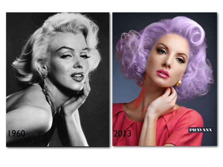 vintage hairstyles modern