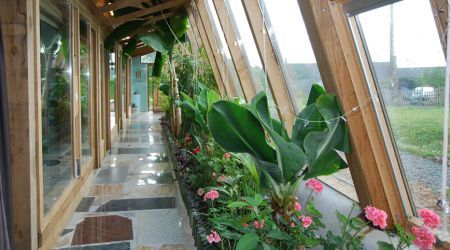 earthship homes are not necessarily tiny but they are 100% amazing. want.