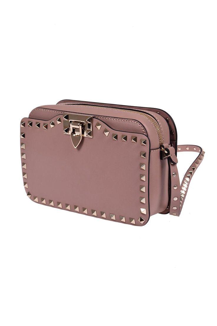 Valentino Garavani - Valentino Garavani Rockstud Cross Body Bag - NW2B0148.BOL P45 POUDRE, Women's Bags | Italist