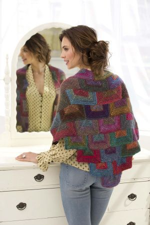 mitered shawl lion brand  http://knitting.craftgossip.com/knit-a-dramatic-shawl-for-spring/2014/04/16/