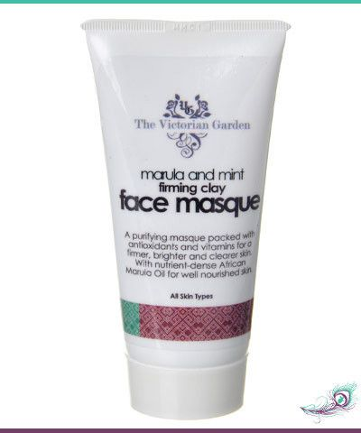 African Indigenous Marula & Mint Firming Clay Face Mask – Absolute Simplicity