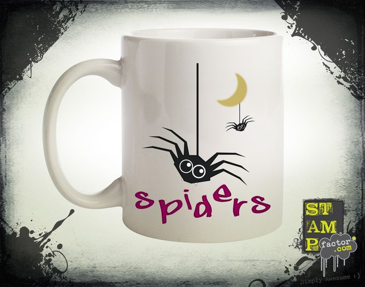 Spiders (Version 06) 2015 Collection - © stampfactor.com *MUG PREVIEW*