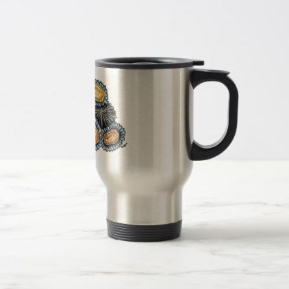 Lapas Patella Shells Seafood mug - home gifts ideas decor special unique custom individual customized individualized