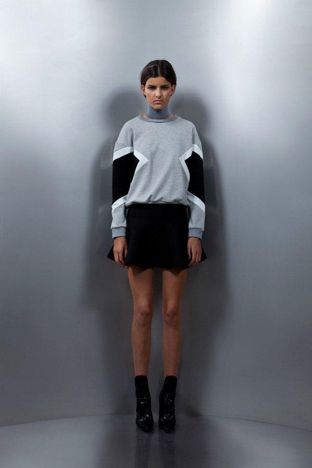 Asilio On The Flip Side Skirt in Black