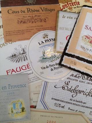 Vintage French labels  FleaingFrance Brocante