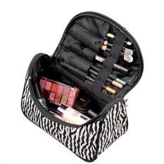 https://www.i-sabuy.com/ Zebra-stripe Patent Leather Waterproof Travel Handbag for Ladies